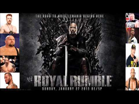 Who should WIN the 2013 WWE Royal Rumble???