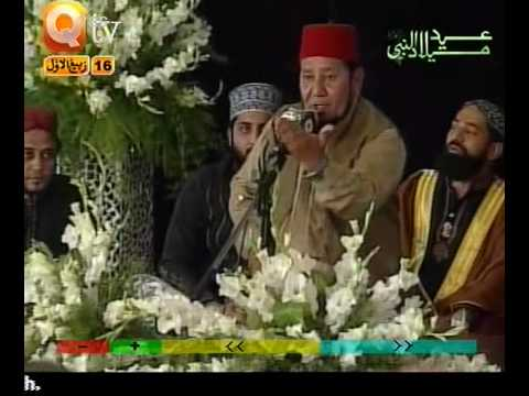 PUNJABI NAAT(Marhaba Marhaba)AKHTAR QURESHI IN QTV.BY   Naat E Habib
