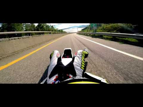 GOPRO ROGER HICKEY 100+ MPH STREET LUGE 2016