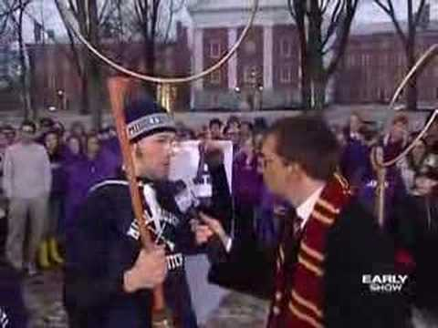 How To Play Quidditch (CBS News)