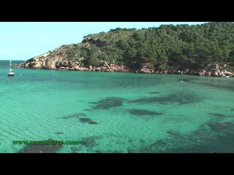 """Playas vírgenes de Algaiarens """"La Vall"""" Menorca (Lugares Secretos de Menorca)"""