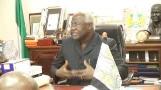 Sierra Leone President thanks International Hope Canada & SALNAM