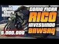 (PS3)GTA V - DICAS - COMO GANHAR 5.000.000,00 INVESTINDO EM AÇÕES DA VAPID- RICO NO GTA 5