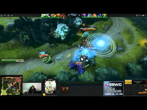 Dota 2 - ESWC Group Stage - Na'Vi vs NextKz