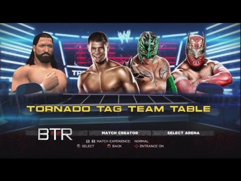 WWE TLC Predictions Rhodes Scholars vs Rey Mysterio/Sin Cara 1# Contender Tag Title Table(WWE 13)