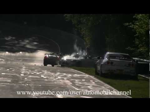 Nordschleife Nurburgring Hard Honda S2000 Crash Accident Unfall 12.05.2012