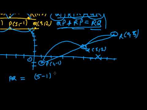 Collinear Points - Distance Formula Problems 5