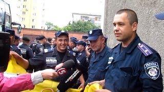 В Житомир вернулись милиционеры служившие в Луганской области