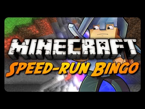 Minecraft: Speed-Run Bingo! (Singleplayer & Multiplayer Challenge Mode)