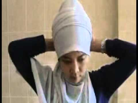 kreasi jilbab shawl gliter
