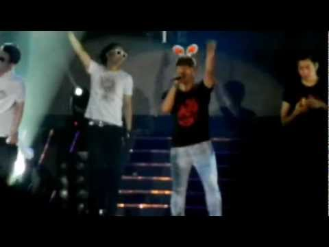 Fancam - Encore: Yo!; Oh; Closing Ment [Shinhwa The Return Concert - Singapore] (120616)