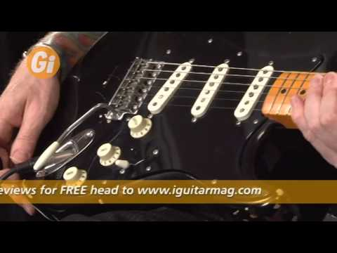 Fender David Gilmour Relic Stratocaster - Demo / Overview With Jamie Humphries iGuitar Mag Feature
