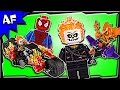 Lego SpiderMan: GHOST RIDER Team-Up 76058 Stop Motion Build Review