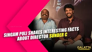 Watch Singampuli Shares Interesting facts about Director Sunder C Red Pix tv Kollywood News 26/Nov/2015 online