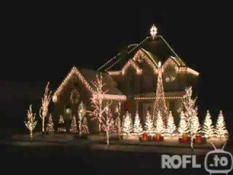 Weihnachtsbeleuchtung show