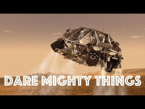 Dare Mighty Things: Curiosity on Mars