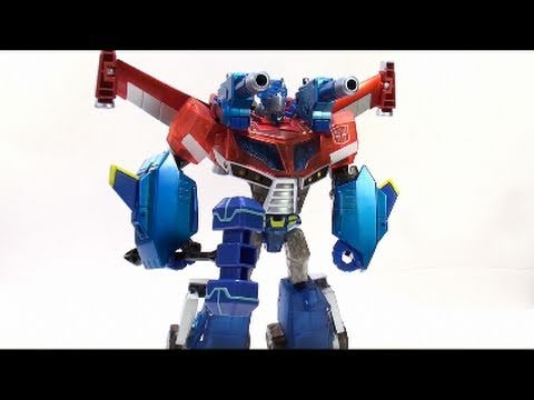 Video Review of the Transformers: Animated; Wingblade Optimus Prime