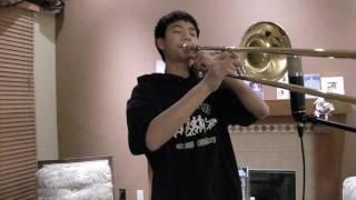 Radiohead- 15 Step Trombone Cover. Twilight. Taylor Lautner.