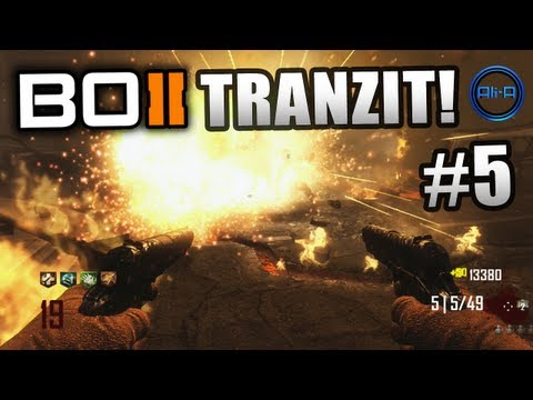 "BLACK OPS 2 Zombies Tranzit ! Ali-A LIVE ""Green Run"" Part 5! - Call of Duty: BO2 Zombies Gameplay"