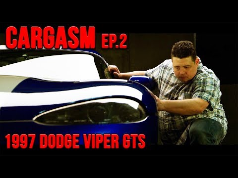 1997 Dodge Viper GTS Pristine Garage Queen Hit The Road in CARGASM Ep. 2 - UC1MwJy1R0nGQkXxRD9p-zTQ
