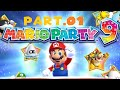 Mario Party 9 Solo Walkthrough Part 1