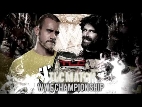 WWE TLC 2012 - CM Punk (c) vs Mick Foley - TLC Match WWE Championship HD