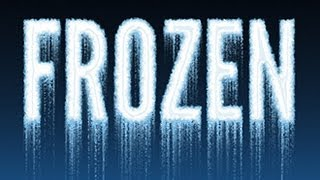 Photoshop: How to Make ICY, FROZEN TEXT from Scratch.