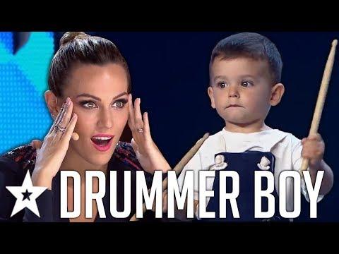 Spain's Got Talent 2019 - 2 настай бөмбөрчин хүүгийн үзүүлбэр