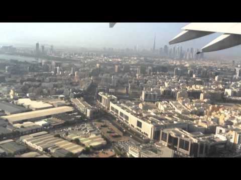 Emirates A380 DXb-CDG (part 1 to 5)