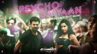 Psycho Saiyaan Teaser - Saaho