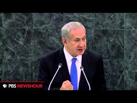 Israel's Benjamin Netanyahi Calls on UN:  'Iran Is Developing Nuclear Weapons'