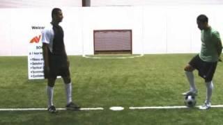 Cómo jugar fútbol (soccer) : Jugada arcoiris