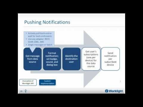 How to Enable Unified Push Notifications in Native and HTML5 Hybrid Mobile Apps