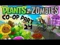 Plants vs Zombies Part 24 - Adventure - Chapter 5 (Roof) Part 9