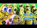 36 Spongebob Toy Surprise Eggs Holiday Edition Toys Unwrapping Epic Review by Disneycollector