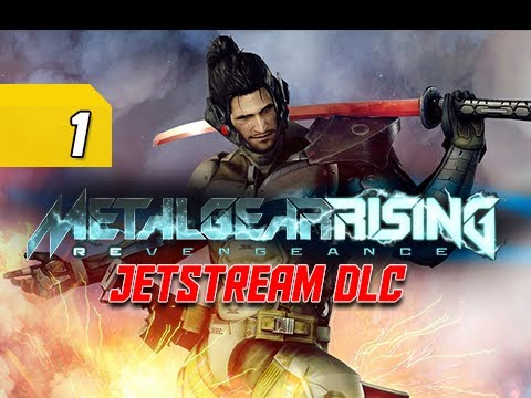 Metal Gear Rising Revengeance Walkthrough - Jetstream DLC Part 1 Enter Sam Let's Play Gameplay