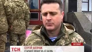 В Житомире попрощались со снайпером Владимиром Гнатюком