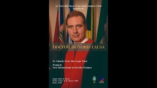 Reconocimiento Doctor Honoris Causa Dr. Eduardo Ferrer