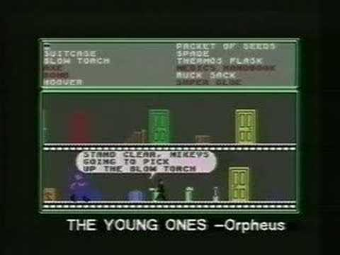 The Young Ones computer game advert