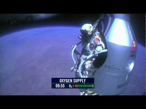 Felix Baumgartner Space Jump World Record 2012 Full HD 1080p [FULL]