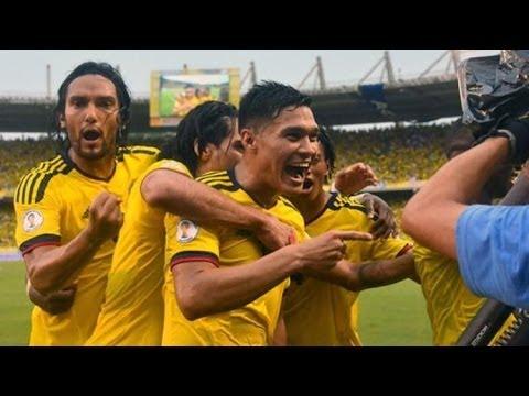 هدف كولومبيا الثاني امام اليونان تعليق علي محمد علي