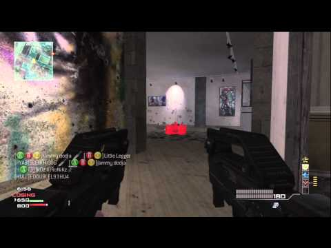 MW3 Gameplay / FFA / PP90 + FMG / First M.O.A.B