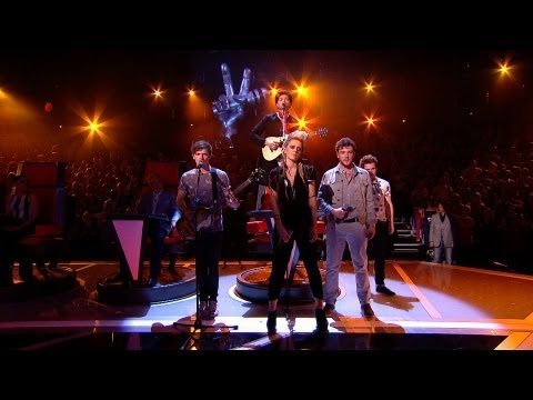 Danny and his team perform 'Somebody That I Used To Know' - The Voice UK - Live Show 4 - BBC One