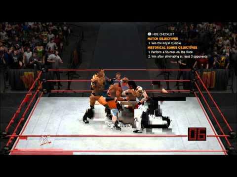 WWE '13 - Austin Era Ep.1 (Royal Rumble '98)