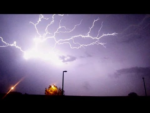 Incredible Lightning Storm in Lakewood CO - July 12, 2011