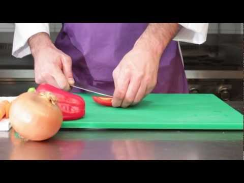 Basic Knife Skills With Chef Antonio