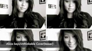 Alicia Keys-Unthinkable Cover(Snippet) by Dara