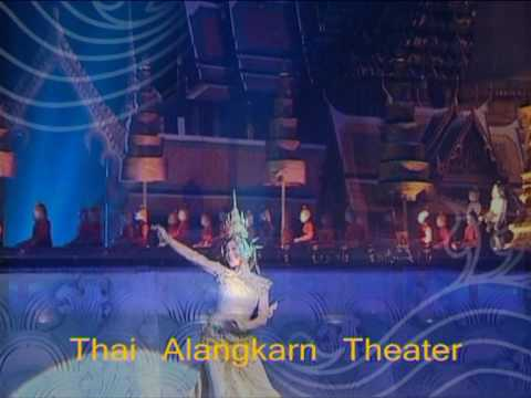 Thai Alangkarn Theater, Biggest Cultural Show in Pattaya, Thailand