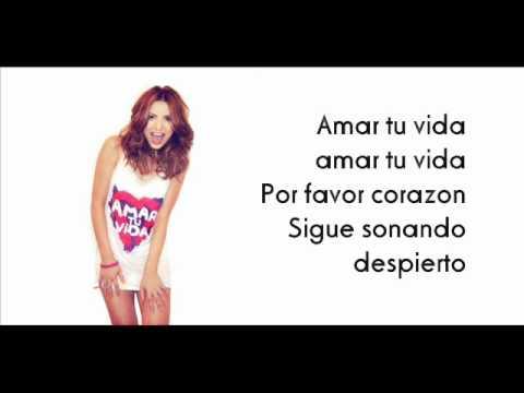 Elena Gheorghe - Amar tu vida (NEW SONG 2012) [LYRICS]