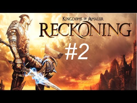 Kingdom of Amalur - Reckoning Walkthrough with Commentary Part 2 - Tutorial City